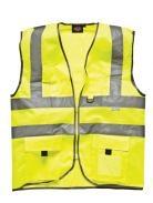 Dickies Sicherheitsweste mit Reißverschluss - SA22020