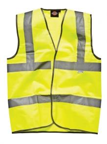 Dickies Sicherheitsweste mit Klettverschluss - SA22010