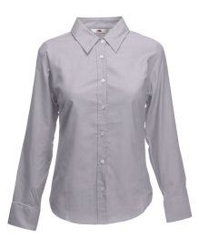 Fruit of the loom Lady-Fit Oxford Shirt LSL