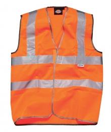Dickies Sicherheitsweste mit Klettverschluss - SA30310